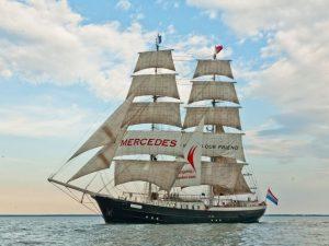 Segeltörn mit Mercedes zu SeeStadtFest Bremerhaven