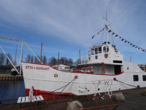 Schifffahrt Nordsee mit Etta von Dangast