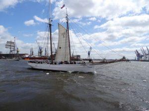 Segelschiff Lotsenschoner No. 5 Elbe