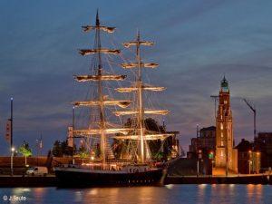 Segelschiff Mercedes in Bremerhaven