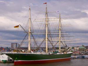 Rickmer Rickmers - eines der Museumsschiffe in Hamburg