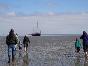 Wattwandern in der Nordsee