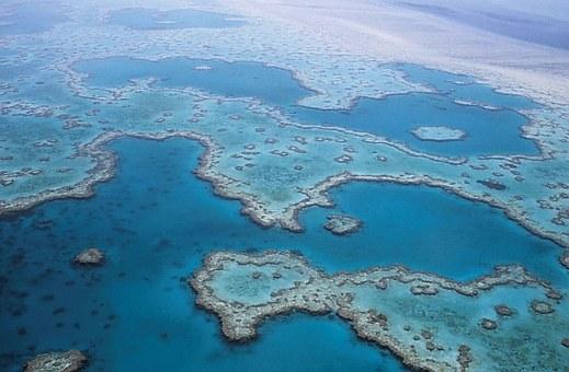 Korallenriff in Australien als Zeichen für nachhaltigen Tourismus und die Agenda 2030